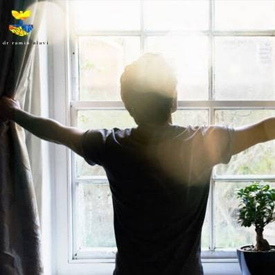درمان افسردگی در خانه